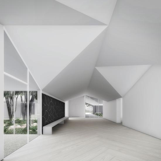 """Volumetric light inside the MDI's """"living room"""""""