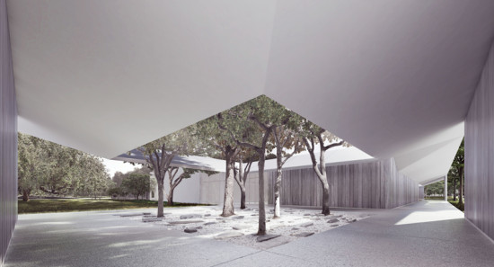 Light Modulation starts outside the building (MDI/ Johnston Marklee)