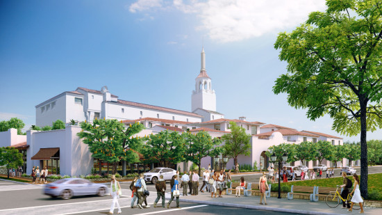 Santa Barbara Public Market is part of the Alma del Pueblo mixed-use development in downtown Santa Barbara. (Courtesy Urban Developments)