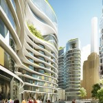 The facade of the Skyline (Courtesy Foster + Partners)
