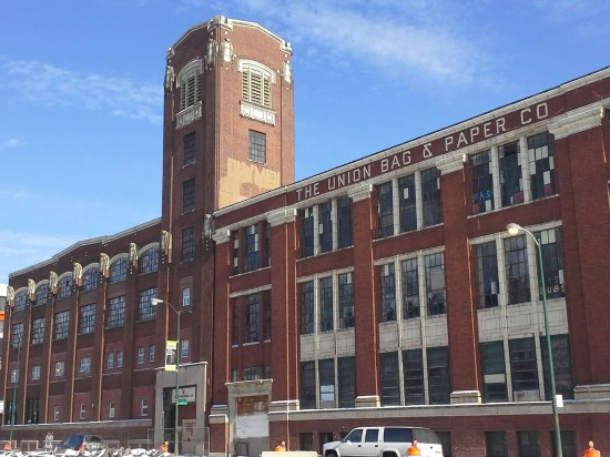 Central Manufacturing District. Primarily located along Ashland Avenue and Pershing Road, Chicago. 3711 and 3737 S. Ashland Avenue, Chicago. (Lisa DiChiera, Landmarks Illinois)