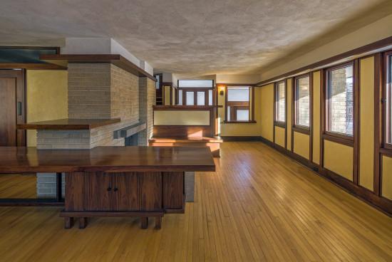 Frank Lloyd Wright's Emil Bach House (James Caulfield)