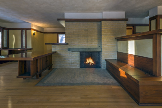 Frank Lloyd Wright's restored Emil Bach House in Chicago's Rogers Park. (James Caulfield)