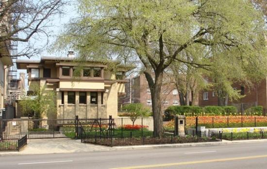 Frank Lloyd Wright's Emil Bach House, 7415 N. Sheridan Rd.
