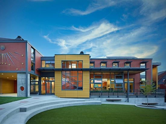 Epiphany School, 2010. (Benjamin Benschneider)