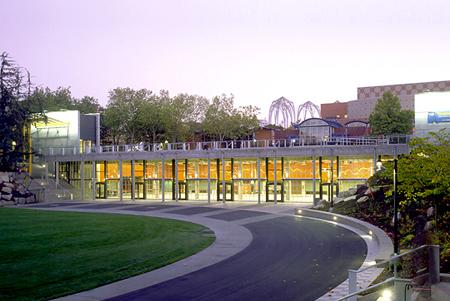 Seattle Center Fisher Pavilion, 2002. (Michael Skott)