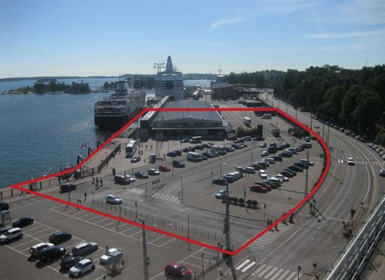 The site of the planned Guggenheim in Helsinki. (Courtesy The Guggenheim)