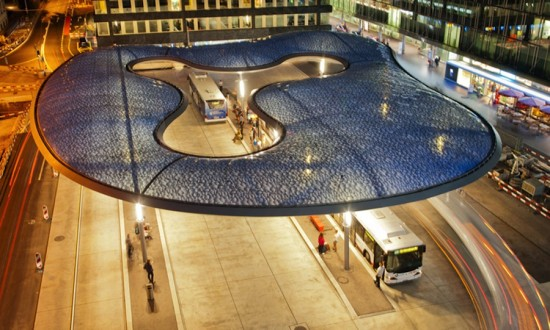 Inflatable Bus Station13