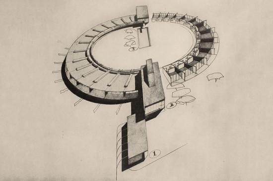 Richard Neutra, Amerika, die Stilbildung des neuen Bauens in den Vereinigten Staaten. Vienna, 1930. (Courtesy Vassar College Libraries)