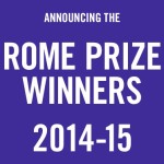 Rome Prize winners announced. (Courtesy American Academy in Rome)