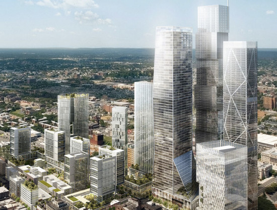 The SoMa master plan. (Courtesy Richard Meier & Partners)