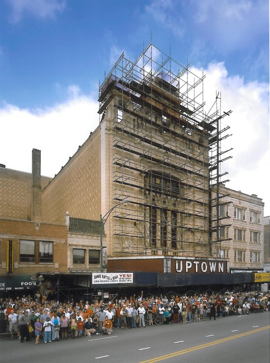 Uptown Theatre, 4816 N. Broadway, Chicago. (Bob Nick, Friends of the Uptown Theatre)
