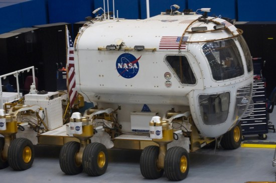 Now a relic, this moon rover once made history (Photo Courtesy of Flickr)