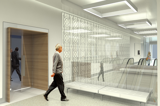 Additional renderings of the lobby  (Photo Courtesy of pagethink.com)