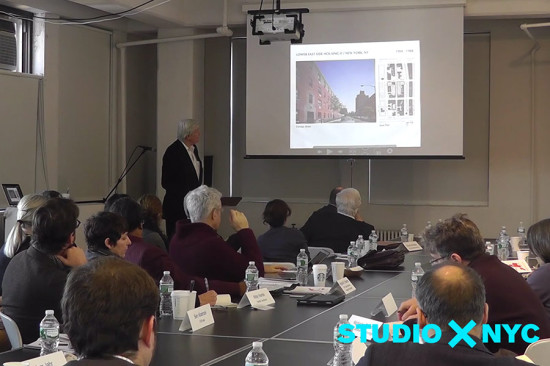 "The ""Total Reset"" symposium took place at Columbia's Studio-X."