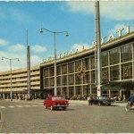 The new station replaces a 1957 structure designed by Sybold van Ravesteyn. (Courtesy Rotterdam City Archives)