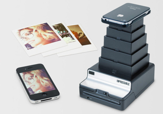The Impossible Instant Lab. Backed by 2,509 project supporters on Kickstarter. (Courtesy MoMA)
