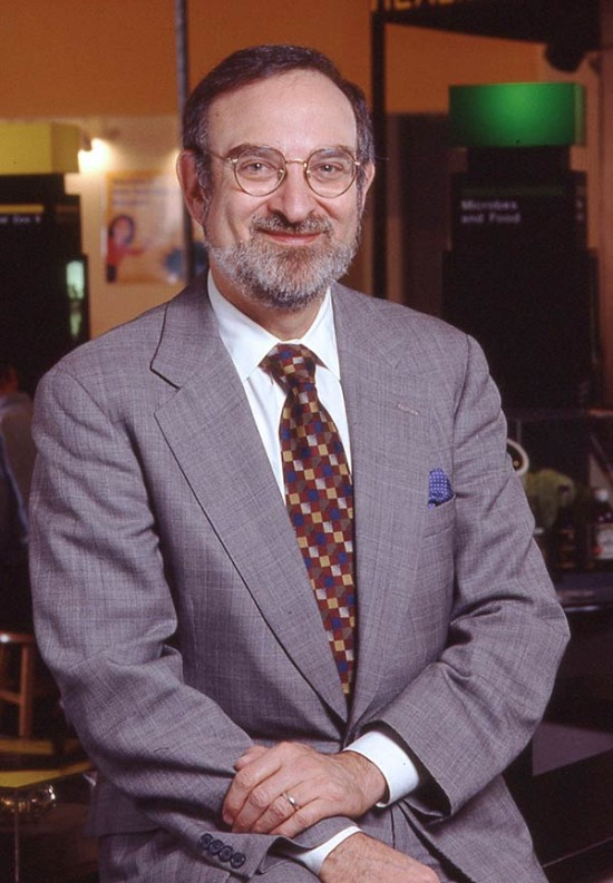 Dr. Alan Friedman, Director of the NY Hall of Science from 1984 to 2006. (Courtesy NY Hall of Science)