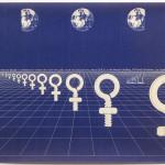 "Sheila Levrant de Bretteville, ""Women in Design,"" 1975. (Joshua White)"