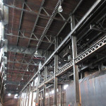 The factory ceiling. (Henry Melcher / AN)