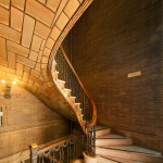Vaulted Stair at St. Paul's Chapel, Columbia University (Courtesy Michael Freeman)