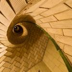 Guastavino Spiral Stair at Cathedral of Saint John (Courtesy Michael Freeman)