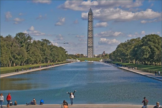 The Washington Monument. (Ron Cogswell / Flickr)