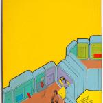 "Craig Hodgetts with Keith Godard, ""UniverCity Now,"" 1969.  (Joshua White)"