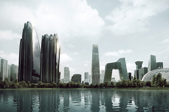 Chaoyang Park Plaza. (Courtesy MAD Studio)