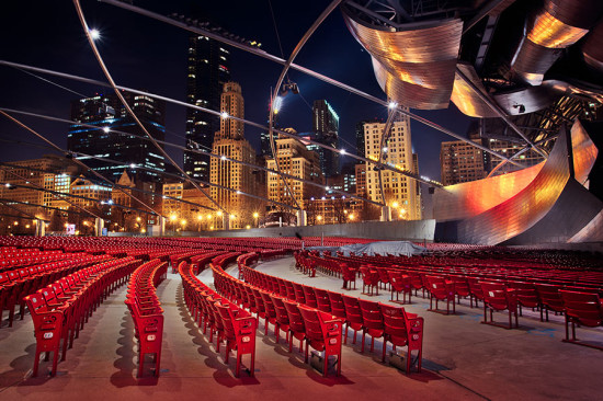 The Pritzker Pavilion at Millennium Park. (Chris Smith / Flickr)