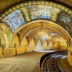 City Hall Subway Station, Tile Vaulting (Courtesy Michael Freeman)