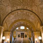 Main Entrance Hall of the Boston Public Library (Courtesy Michael Freeman)