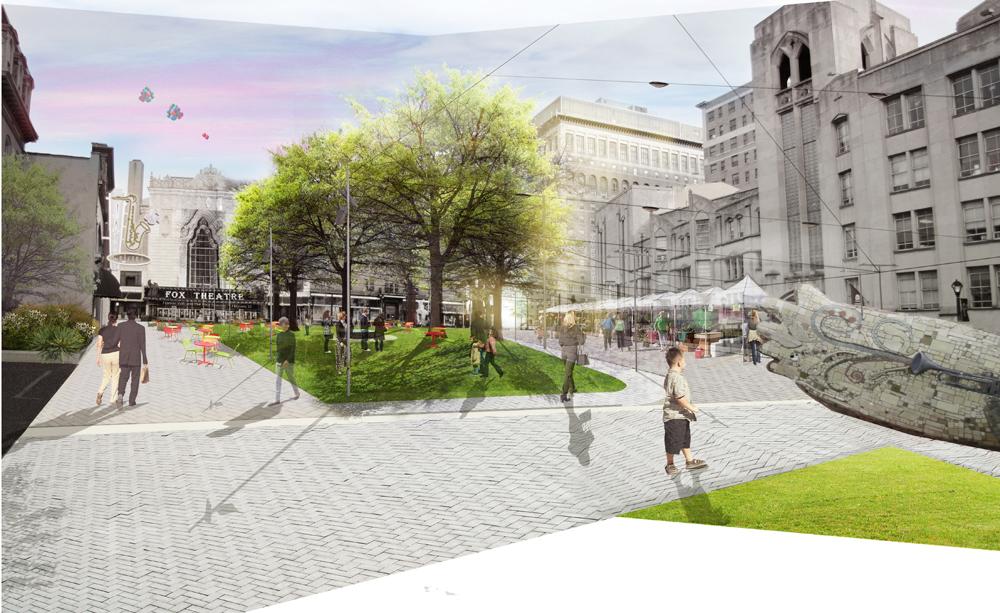 st louis exhibition explores street design in grand