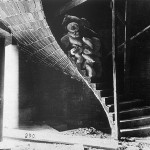 Load Test on Guastavino Heliocoidal Tile Stair, First Church of Christ, Scientist, 1900 (Courtesy Avery Library)