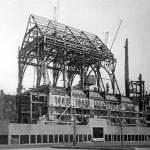 Riverside Church Under Construction, Architect Charles Collen, NYC, 1930 (Courtesy Avery Library)