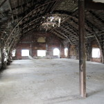 The top floor, which will likely become event space. (Henry Melcher / AN)