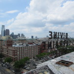 Philly's skyline from the roof. (Henry Melcher / AN)