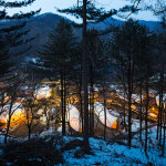 ArchiWorkshop built eight glamping structures on a test site in South Korea. (Courtesy ArchiWorkshop)