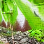 Twin Walls. (Courtesy Steve Weinik for the City of Philadelphia Mural Arts Program)