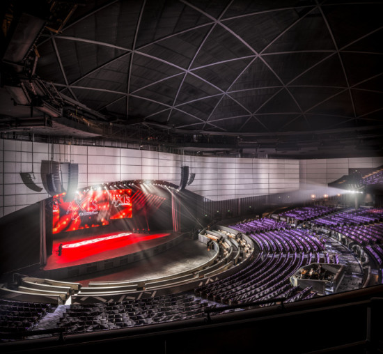 Gensler renovated the 1976 theater in advance of Britney Spears's move to the city. (Ryan Gobuty for Gensler)