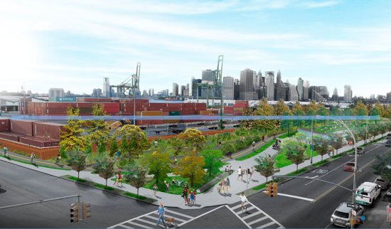 The Greenway in Brooklyn (Courtesy Roger Marvel Architect)
