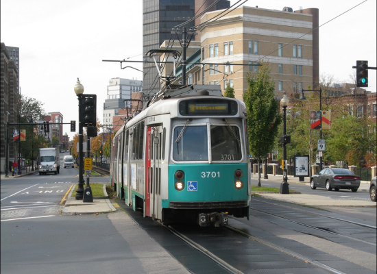 The Green Line in Boston. (Flickr /  bindonlane)