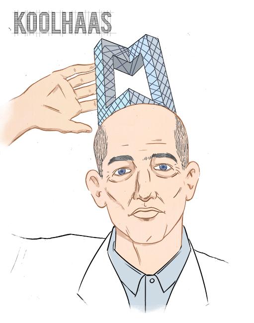 Rem Koolhaas. (Courtesy Paul Tuller)