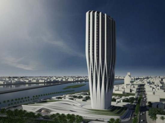 (Central Bank of Iraq / Zaha Hadid Architects)