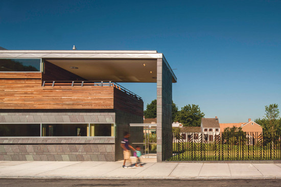 The Weeksville Heritage Center by Caples Jefferson Architects took the MASterworks top honor. (NIC LEHOUX)