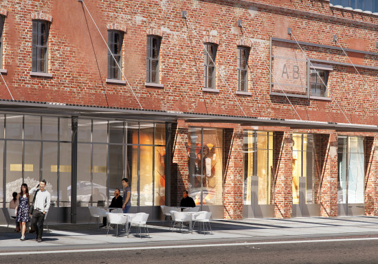 The street level. (BKSK Architects)