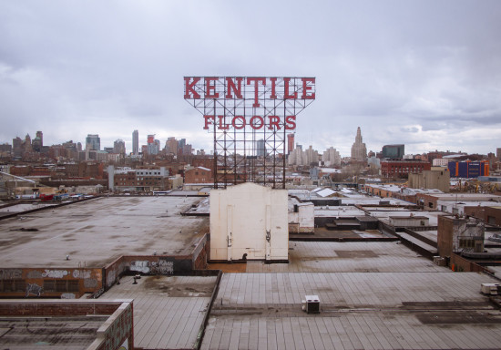 The Kentile Sign in Gowanus. (Flickr /