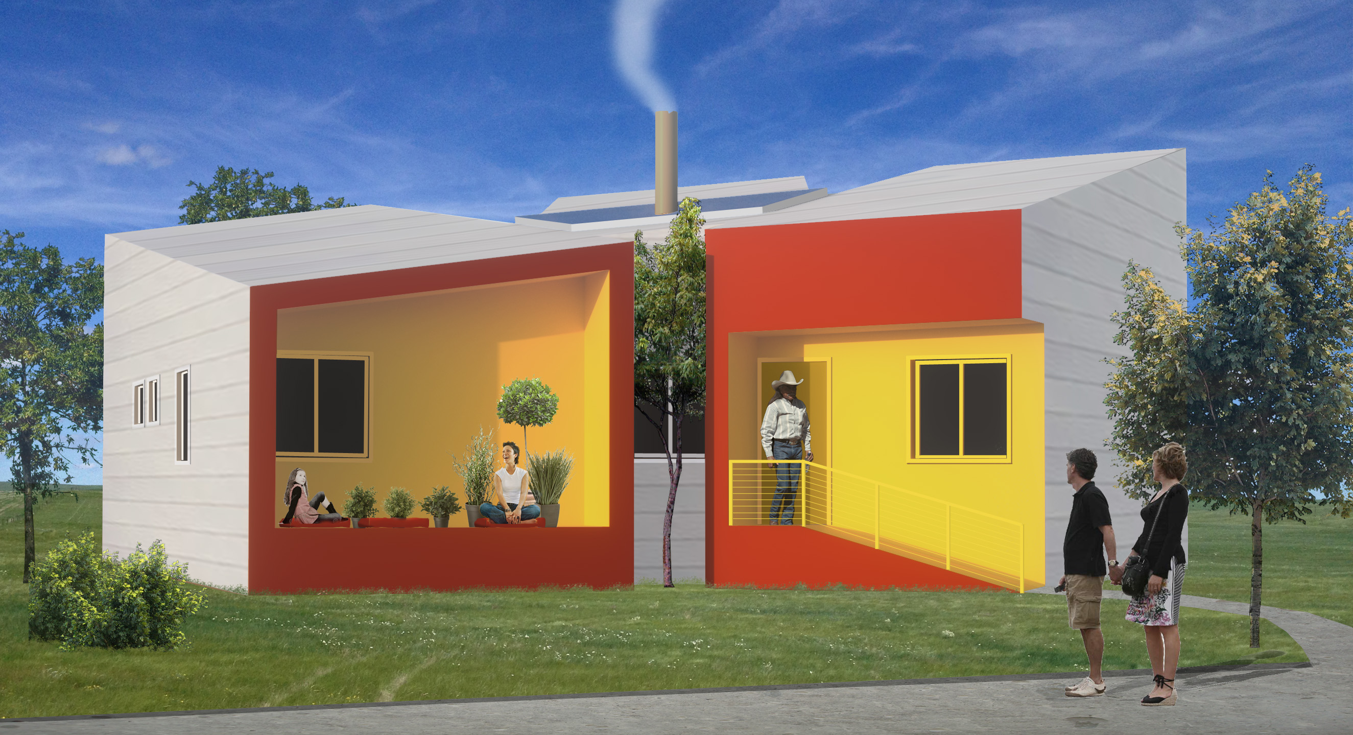 Brad Pitt\'s Make It Right Foundation to build sustainable homes ...