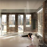 The fitness center. (Pierre Levesque via PSFK and Prodigy Network)