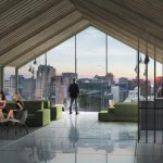Rooftop recreational space. (Pierre Levesque via PSFK and Prodigy Network)